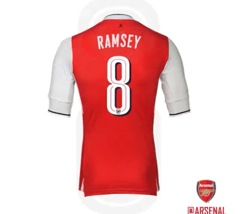 CONFIRMED: Aaron Ramsey gets Arsenal number 8 shirt