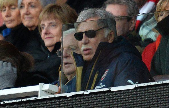 Stan Kroenke who owns Arsenal