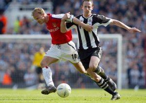 Dennis Bergkamp v Newcastle