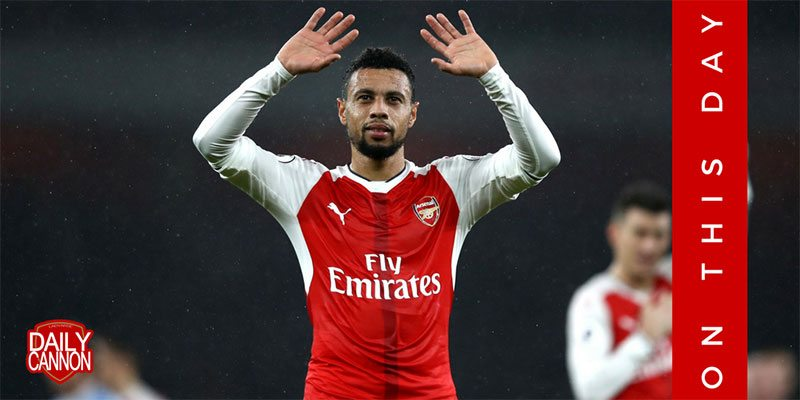 On this day Arsenal Francis Coquelin
