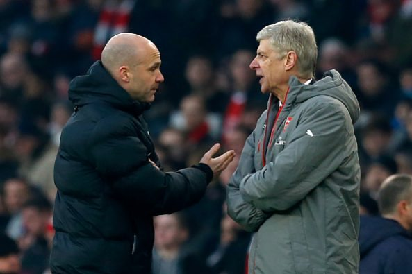 Arsene Wenger ban for actions against Anthony Taylor