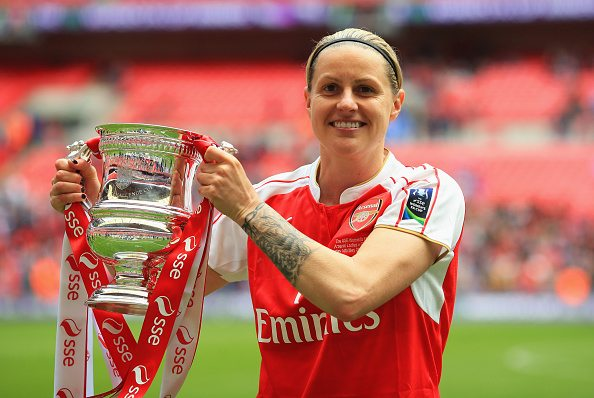 Kelly Smith I'm not 'out' out but I've not hidden it