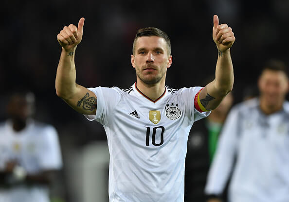 Lukas Podolski Hits Out At Player S Wives With Sexist Comments
