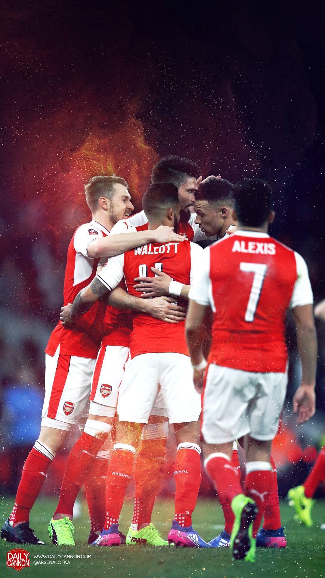 Superb Arsenal Mobile Wallpapers From Happier Times Daily Cannon