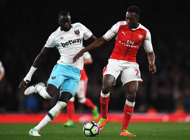 Welbeck in action against West Ham