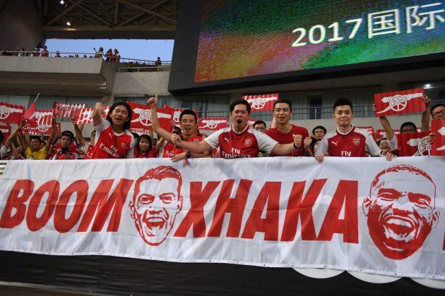 Book Xhaka fans