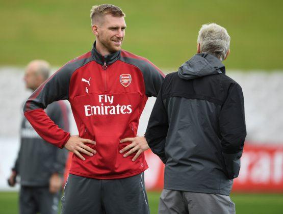 Mertesacker and Wenger