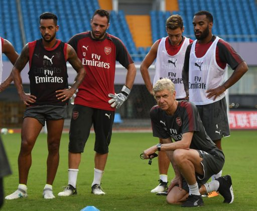 Wenger and meeting