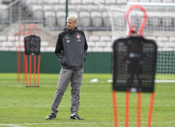 Wenger looks on again