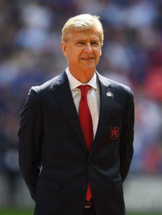 Arsene Wenger New Suit
