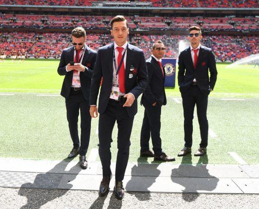 Suits at Wembley