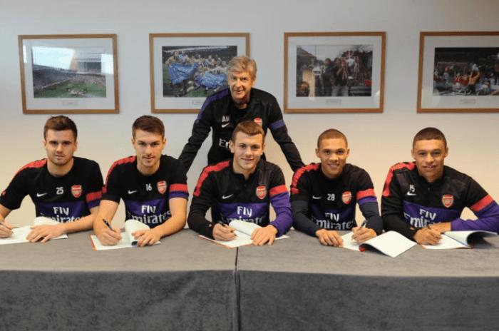 Arsenal's British core