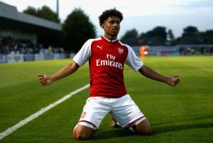 Reiss Nelson (Photo by Alex Pantling/Getty Images)