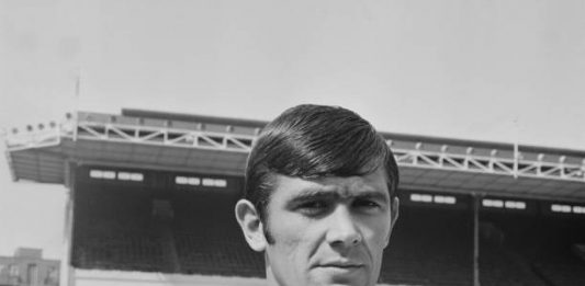English footballer Peter Simpson of Arsenal F.C., 8th August 1969. (Photo by Michael Webb/Keystone/Hulton Archive/Getty Images)