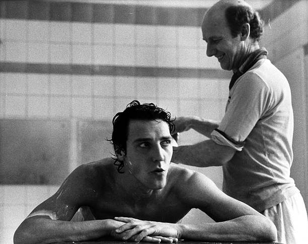 2nd April 1979: Footballer Sammy Nelson of Arsenal being treated by physiotherapist Fred Street at Arsenal's ground at Highbury, North London. (Photo by Frank Tewkesbury/Evening Standard/Getty Images)