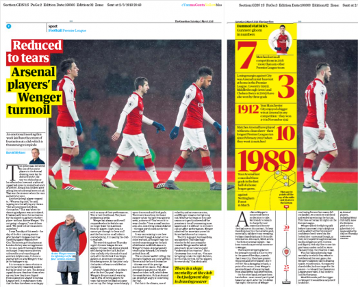 Guardian Sport Wenger Times up 3 march 2018 2