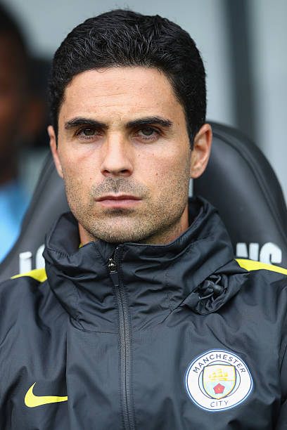 SWANSEA, WALES - SEPTEMBER 24: Mikel Arteta, Assistant coach of Manchester City looks on during the Premier League match between Swansea City and Manchester City at Liberty Stadium on September 24, 2016 in Swansea, Wales. (Photo by Michael Steele/Getty Images)