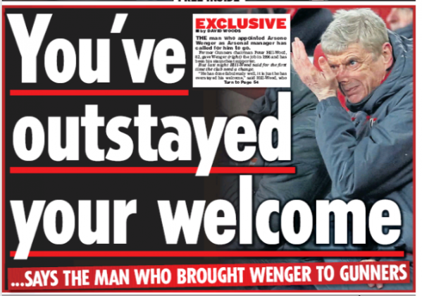 daily star wenger outstayed welcome 3 march 2018
