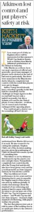 9 april 2018 daily telegraph manchetser united atkinson