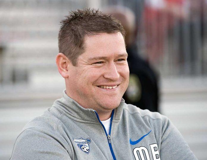 Head coach Matt Beard. (ISI Photos/Mike Gridley)