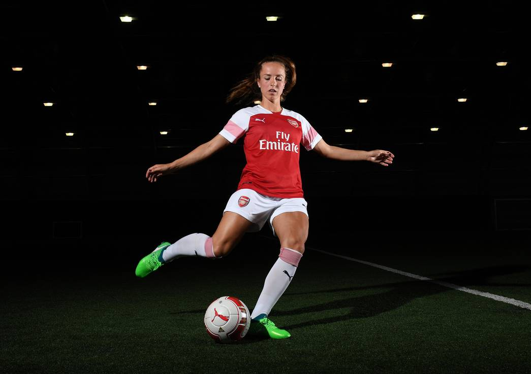 Lia Walti signs for Arsenal Women. Arsenal Women Signings. Arsenal Training Ground. London Colney, Herts, 22/5/18. Credit : Arsenal Football Club / David Price.