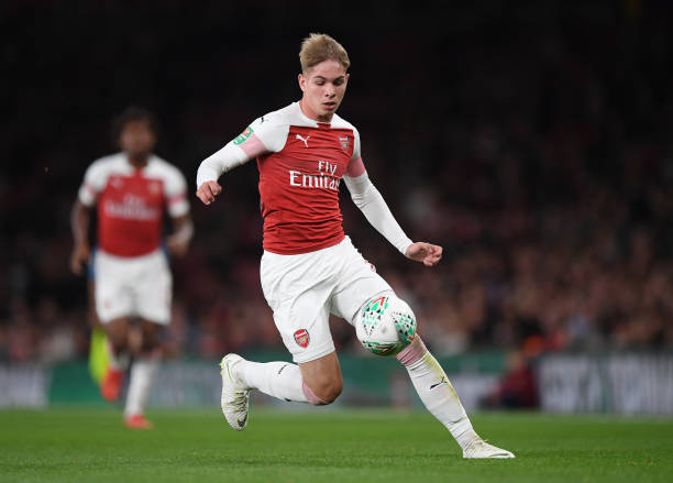 Smith Rowe Tipped To Become England Regular