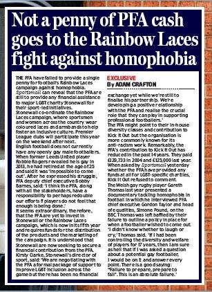 Daily Mail 22 November 2018
