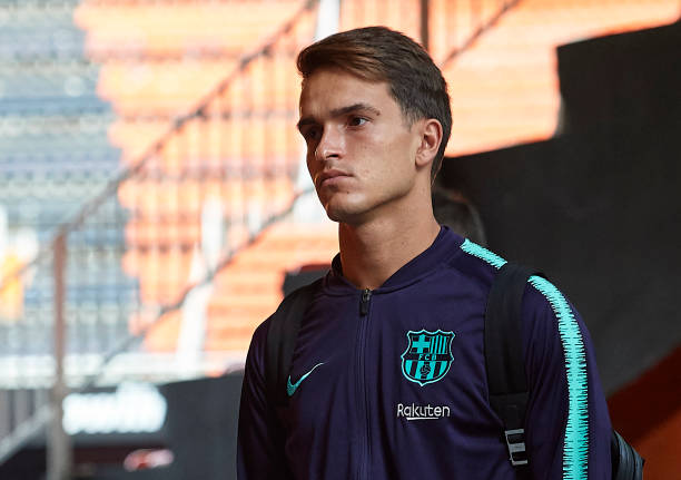 VALENCIA, SPAIN - OCTOBER 07: Denis Suarez of Barcelona arrives for the La Liga match between Valencia CF and FC Barcelona at Estadio Mestalla on October 7, 2018 in Valencia, Spain. (Photo by Manuel Queimadelos Alonso/Getty Images)