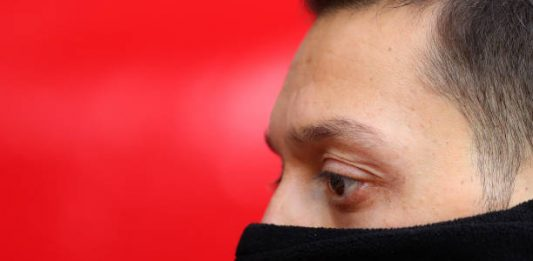 SOUTHAMPTON, ENGLAND - DECEMBER 16: Mesut Ozil of Arsenal ahead of the Premier League match between Southampton FC and Arsenal FC at St Mary's Stadium on December 16, 2018 in Southampton, United Kingdom. (Photo by Catherine Ivill/Getty Images)