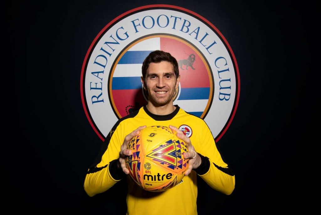Emi Martinez signs for Reading on loan until the end of the 2018/19 season via ReadingFC.co.uk