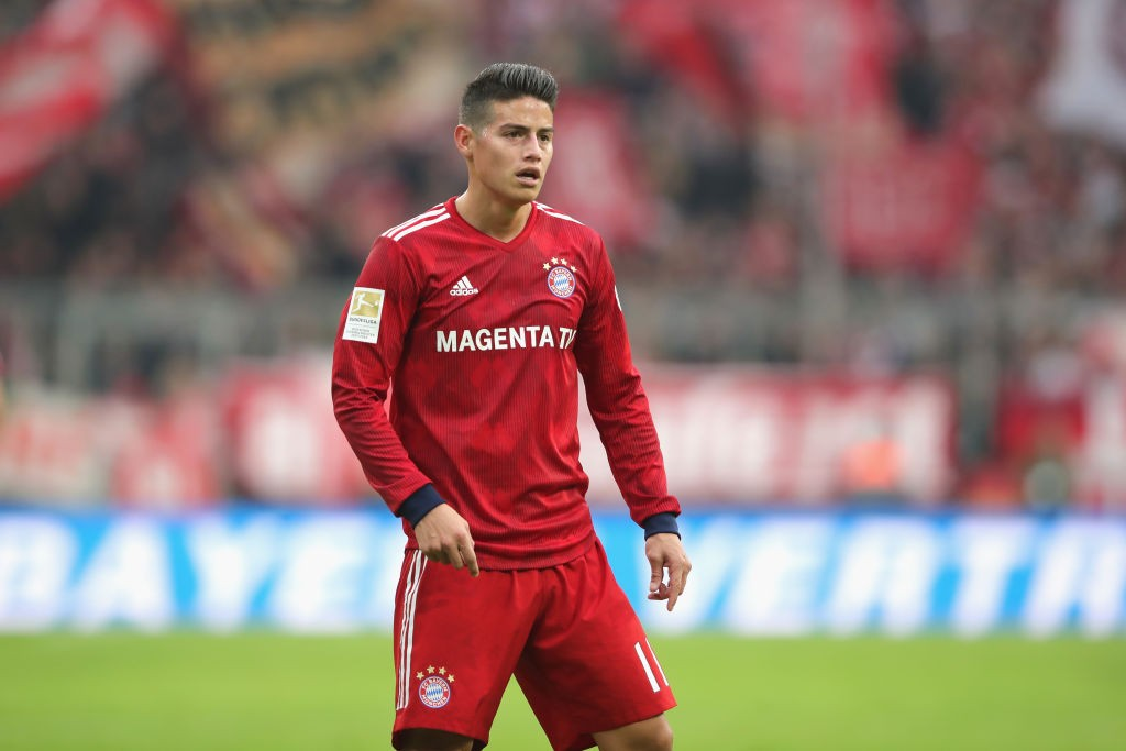 Report Arsenal One Of Two Serious Options For James Rodriguez Daily Cannon