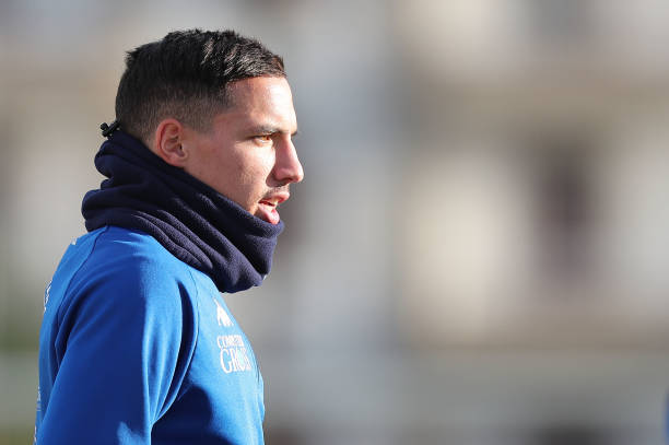 EMPOLI, ITALY - JANUARY 16: Ismael Bennacer of Empoli FC looks on during training session on January 16, 2019 in Empoli, Italy. (Photo by Gabriele Maltinti/Getty Images)
