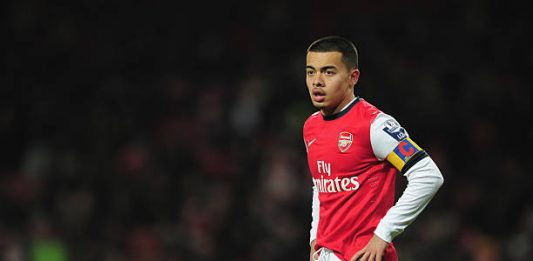 LONDON, ENGLAND - MARCH 25: Nico Yennaris of Arsenal U19 in action during the NextGen Series Quarter Final match between Arsenal U19 and PFC CSKA U19 at the Emirates Stadium on March 25, 2013 in London, England. (Photo by Jamie McDonald/Getty Images)