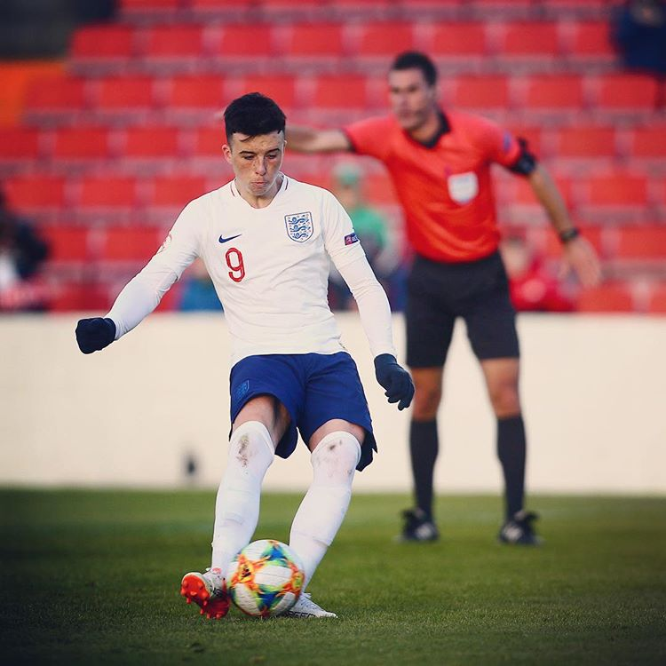 Sam Greenwood with England (Photo via Instagram / England)