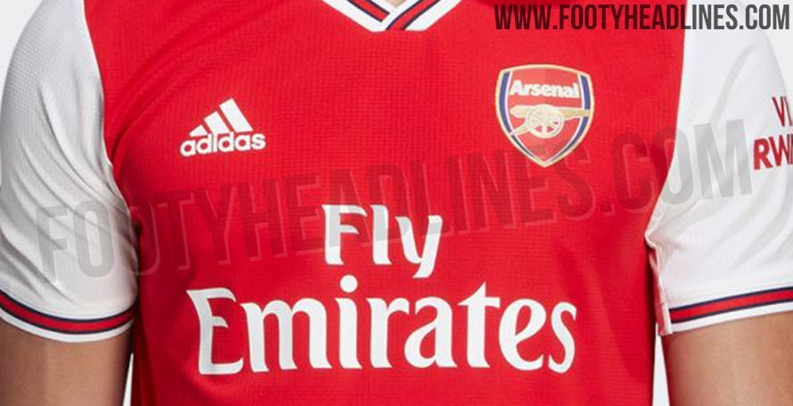 Leaked 12 New Official Pictures Of The 2019 20 Arsenal Adidas Home Kit