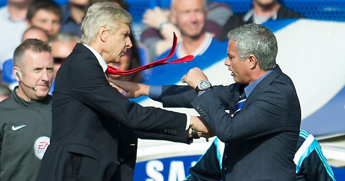 Arsene v Jose