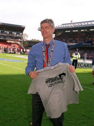 Arsenal's Invincibles' Comical Wenger