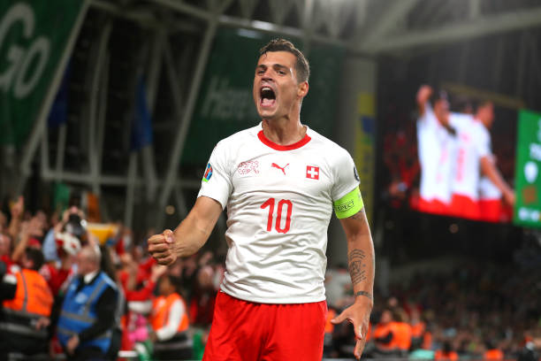 Granit Xhaka Offers To Give Up Swiss Captaincy To Please Xherdan Shaqiri