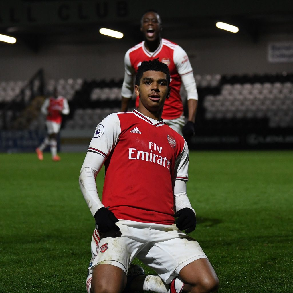 Tyreece John-Jules (Photo via Twitter / Arsenal Academy)