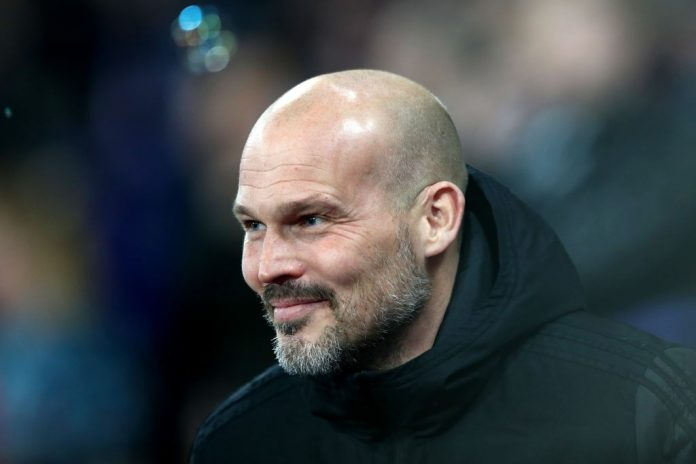 LONDON, ENGLAND - DECEMBER 09: Freddie Ljungberg, Interim Manager of Arsenal during the Premier League match between West Ham United and Arsenal FC at London Stadium on December 09, 2019, in London, United Kingdom. (Photo by Dan Istitene/Getty Images)