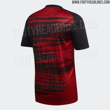 Arsenal pre-match kit for 2020-21 (Photo via FootyHeadlines.com)