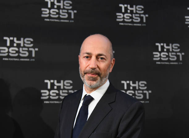 MILAN, ITALY - SEPTEMBER 23: Ivan Gazidis attends The Best FIFA Football Awards 2019 at the Teatro Alla Scala on September 23, 2019 in Milan, Italy. (Photo by Claudio Villa/Getty Images)
