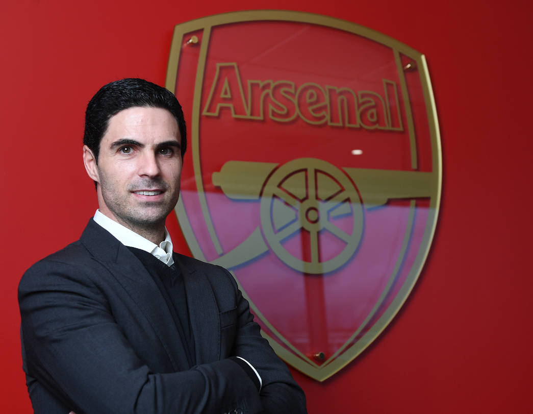 ST ALBANS, ENGLAND - DECEMBER 20: Arsenal Head Coach Mikel Arteta at London Colney on December 20, 2019 in St Albans, England. (Photo by Stuart MacFarlane/Arsenal FC via Getty Images)