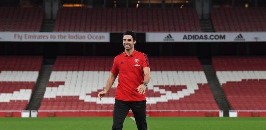 Mikel Arteta via @Arsenal (Photo by Stuart MacFarlane/Arsenal FC via Getty Images)