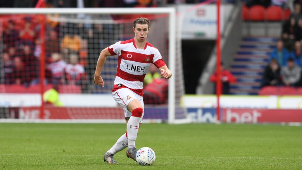 Ben Sheaf with Doncaster Rovers (Photo via Twitter)