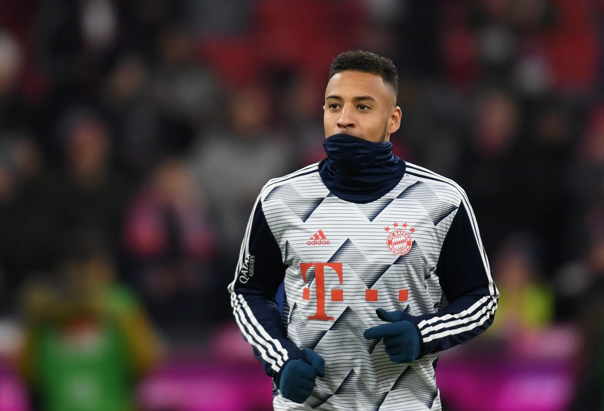 Bayern Munich's French midfielder Corentin Tolisso arrives for the warm up session prior the German first division Bundesliga football match FC Bayern Munich v Bayer Leverkusen in Munich, southern Germany, on November 30, 2019. (Photo by Christof STACHE / AFP) / RESTRICTIONS: DFL REGULATIONS PROHIBIT ANY USE OF PHOTOGRAPHS AS IMAGE SEQUENCES AND/OR QUASI-VIDEO (Photo by CHRISTOF STACHE/AFP via Getty Images)