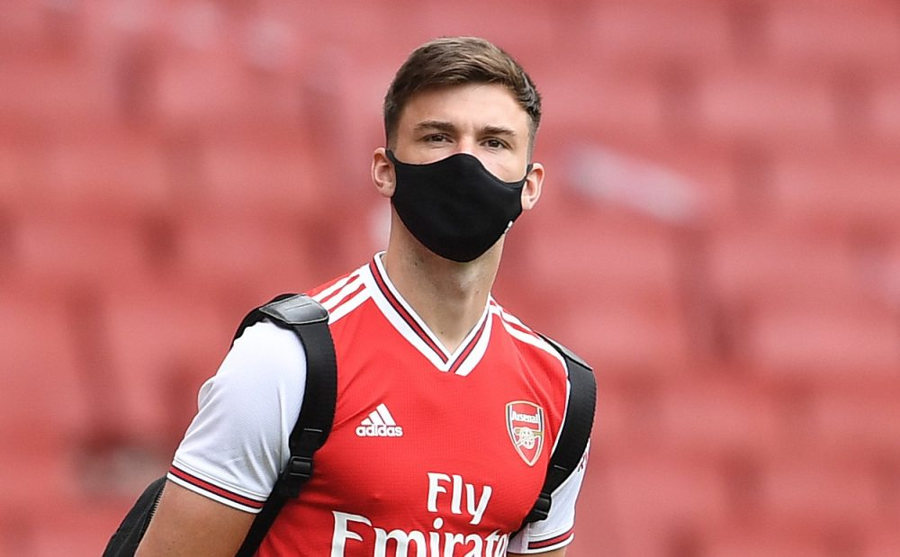 kieran tierney via arsenal