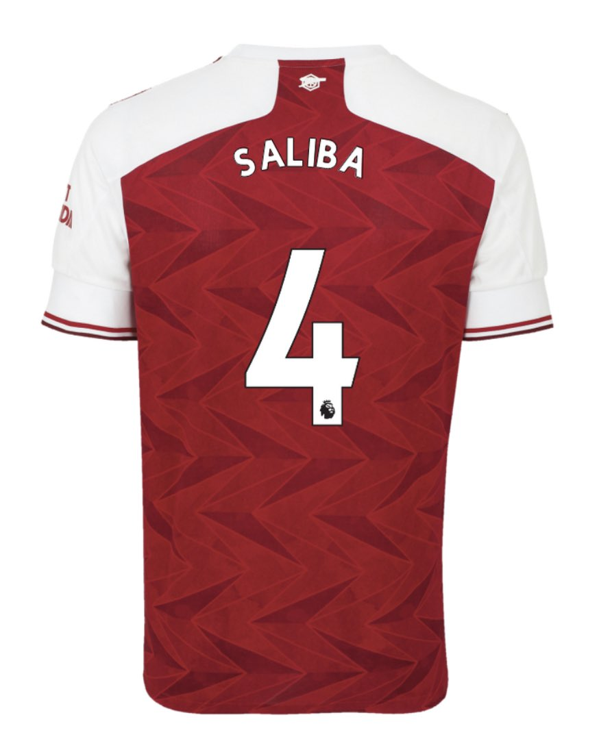 Confirmed 20 21 Arsenal Shirt Numbers Men Women Youth