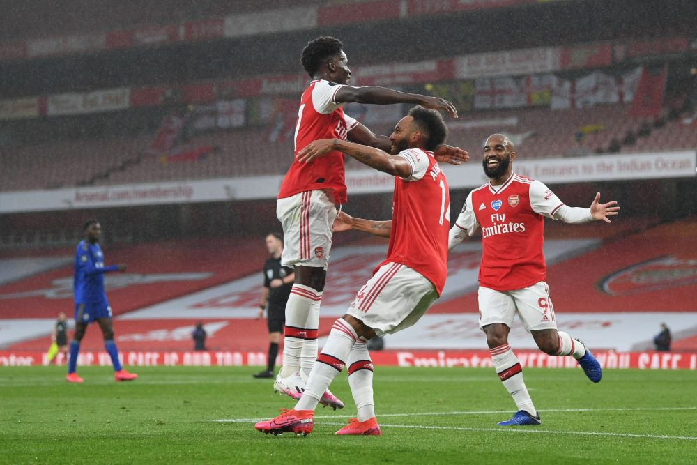 Aubameyang explains why Saka will go straight to the top