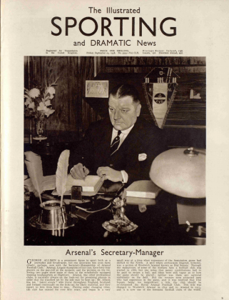 George Allison, Illustrated Sporting and Dramatic News - Friday 23 September 1938
